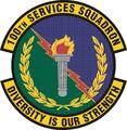 100 Services Sq emblem.png