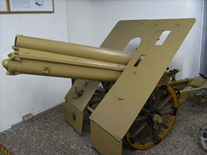 Skoda 100 mm Model 16/19 - Image: 100 mm Skoda Gebirgshaubitze
