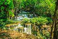 1039 Huai Mae Khamin Falls - Sinakharin Dam National Park, Kanchanaburi, Thailand.jpg
