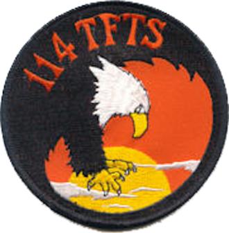 114th Fighter Squadron - Legacy emblem of the 114th Tactical Fighter Training Squadron