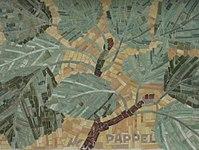 1170 Andergasse 10-12 - Ernest Bevin-Hof Stg 6 - Hauszeichen Pappel von Hildegard Krampa 1958 IMG 4752.jpg