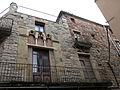 117 Cal Missals (Santpedor), detall de la façana del carrer de la Mura.JPG