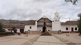 Sáchica - Image: 11 Iglesia de Sáchica Boyacá