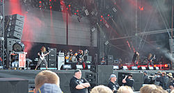 Six Feet Under auf dem Wacken Open Air 2012
