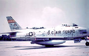 121st Tactical Fighter Squadron - North American F-86H-10-NH Sabre 53-1329