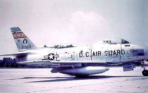 121st Fighter Squadron - 121st TFS F-86H 53-1329
