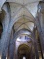 139 Monestir de Sant Cugat del Vallès, nau central de l'església.JPG
