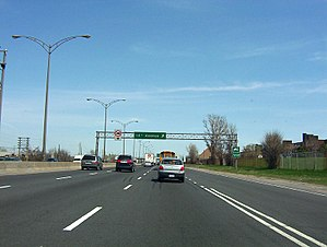 Quebec Autoroute 20 - Image: 14th ave east