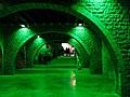 157 Porxo del Museu Marès, durant el festival Llum BCN.JPG