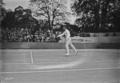 16-6-23, championnat (de) France (de tennis), Blanchy contre Decugis - (photographie de presse) - (Agence Rol).png