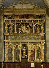 retable du maître-autel à Villars-sur-Var