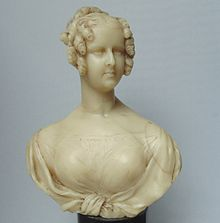 Wax figure of Queen Adelaide, 1830 (Source: Wikimedia)