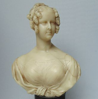 Adelaide of Saxe-Meiningen - Wax figure of Queen Adelaide, 1830