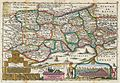 1747 La Feuille Map of Neuchâtel, Switzerland - Geographicus - Neufchatel-ratelband-1747.jpg