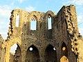 176 Ruïnes del monestir de Vallsanta (Guimerà), absis.jpg