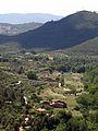 182 Vall del Tenes, cases de la Madella i turó de Can Garriga, des de Sant Miquel del Fai.JPG