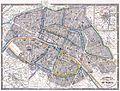 1865 Galignani's Plan of Paris and Environs (France) - Geographicus - Paris-galignani-1865.jpg