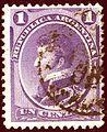 1873issue 1C violet Argentina General Mi18a.jpg