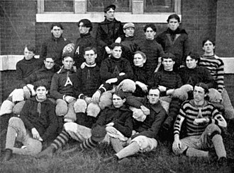 1897 Auburn Tigers football team - Image: 1897 Auburn University varsity football team