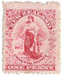 Stamps New Zealand King Edward Island