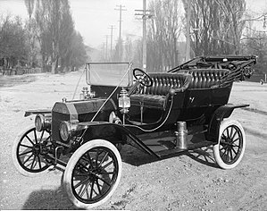 Ford Motor Company - A 1910 Model T, photographed in Salt Lake City
