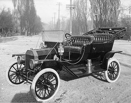 A 1910 Model T, photographed in Salt Lake City 1910Ford-T.jpg