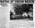 1922 - Ceader Beach Pool Ad - 4 Jul - Allentown PA.jpg