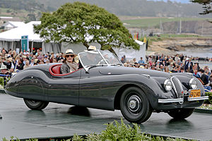 Jaguar XK120 - XK120 originally owned by Clark Gable at the 2012 Pebble Beach Concours d'Elegance