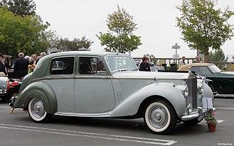 Rolls-Royce Silver Dawn - Image: 1952 Rolls Royce Silver Dawn fvr
