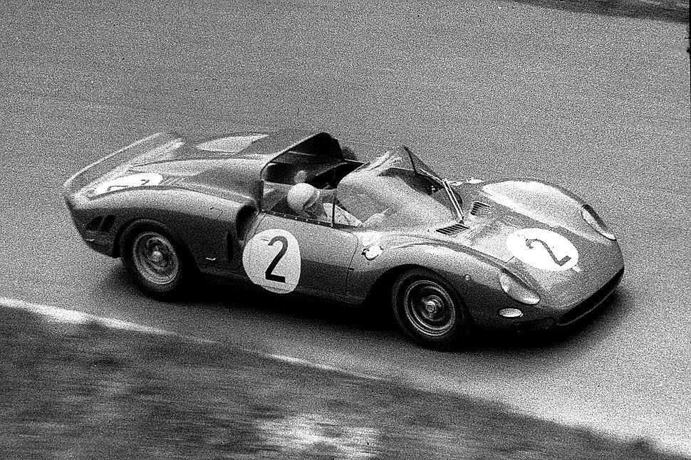 1965-05-23 20 Jean Guichet, Ferrari 275 P2