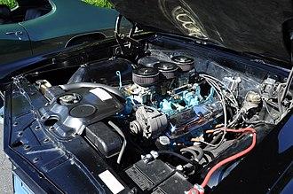 Pontiac V8 engine - 1965 Pontiac GTO engine
