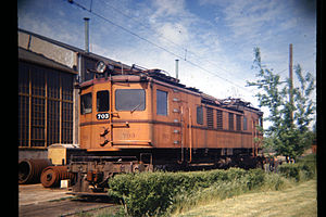 19660529 09 South Shore Line 703 @ Michigan City Shops.jpg