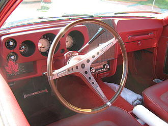 AMC Javelin - SST interior