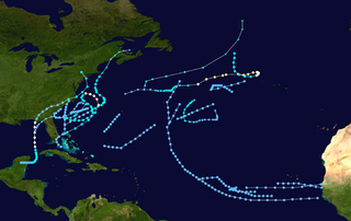 Timeline of the 1972 Atlantic hurricane season