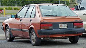 Holden Astra - 1984–1986 Holden Astra SL/E (LB)