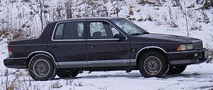 Plymouth Acclaim - 1989-1992 Plymouth Acclaim LX