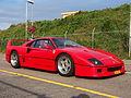 1989 Ferrari F40, licence 59-JVK-5, pic2.JPG