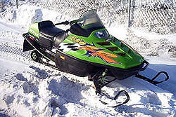 Arctic Cat Zr  Top Speed