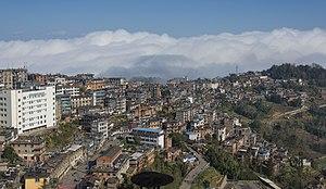 Yuanyang County, Yunnan - Image: 1 yuanyang county old town 2012