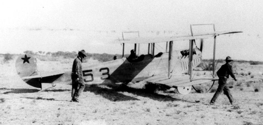 1st Aero Squadron Curtiss JN-3 No 53