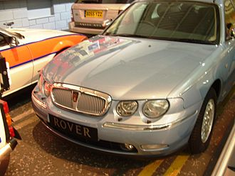 Rover 75 - The first production Rover 75 model, a V6 Connoisseur, 1998