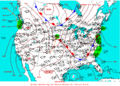 2003-07-14 Surface Weather Map NOAA.png