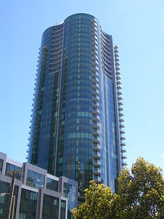 The Infinity building complex in San Francisco