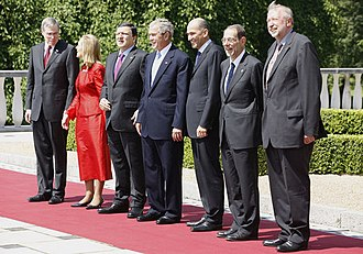 EU-US summit at Brdo Castle in 2008 20080610-US-EU summit.jpg