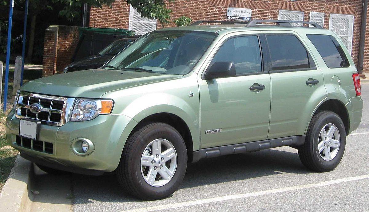 Ford Model A >> Ford Escape Hybrid - Viquipèdia, l'enciclopèdia lliure