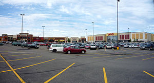 Rosedale Center - The 2005 expansion added several restaurants and a large movie theater.