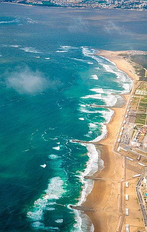 Costa da Caparica - The coast near the mouth of the Tagus River