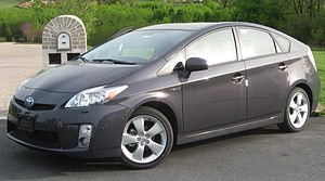2010 Toyota Prius V photographed in Bowie, Mar...