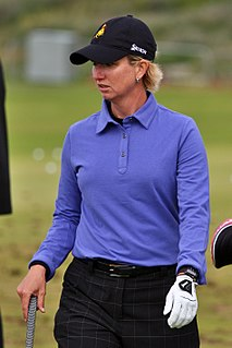 Karrie Webb Australian golfer