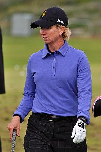 Karrie Webb - Webb at the 2010 Women's British Open